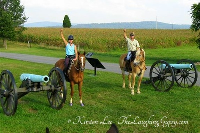 Trail Ride at Antietam Battlefield